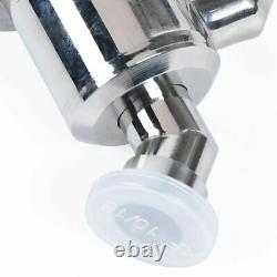 Manual Angle Flapper Valve KF25 Vacuum Pump Flange Fitting Parts SS Y Typle