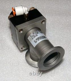 Mks Cv25-k2k2-ncvv-120 Compact Pneumatic Unheated Vacuum Angle Valve Kf-25 Nw25