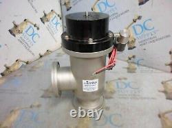 Mks Hps 153-0063p Size 2.5 120 V 50-60 Hz High Vacuum Bellows Angle Valve