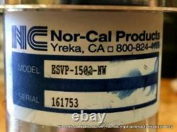NEW NOR-CAL ESVP-1502-NW Pneumatic Angle Valve NW-40 FREE SHIPPING