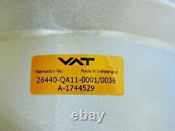 NEW VAT 264-Series 26440-QA11-0001 HV Vacuum Angle Valve ID 4 Aluminum DN 100