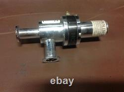 NORCAL ESVP-0752NWB ANGLE VALVE PNEUMATICALLY ACTUATED used from system vacuum