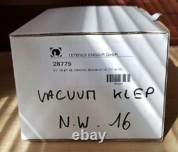 New Leybold Vacuum TypEV 16 EP AL No28775 Pneumatically Actuated Angle Valve