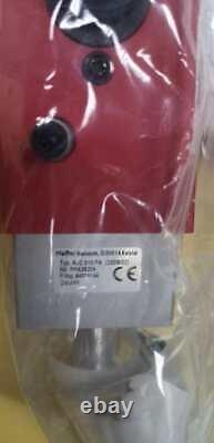 New Pfeiffer AVC016PA High Vacuum Angle Valve PNPFA38204