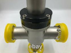 Nor-Cal 3870-01212 3-Way Pneumatic T Angle Valve
