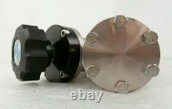 Nor-Cal 3870-02286 Angle Valve Assembly 0040-36023 AMAT Applied Materials Spare