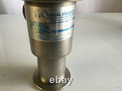 Nor-Cal Products ESVP-1502-NW Pneumatic Isolation Angle Vacuum Valve Used Item