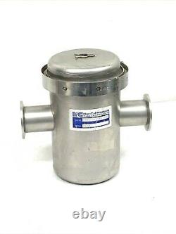 Nor-Cal Products FTMS-4-1502NWB Manual Angle Isolation Valve, 6 Body