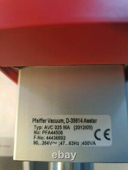 PFEIFFER Vacuum Electromagnetic Angle Valve D-35614 Asslar
