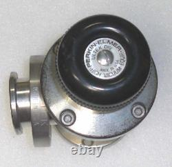 Perkin Elmer Rotatable 2.75 CFF Stainless Steel Manual High Vacuum Angle Valve
