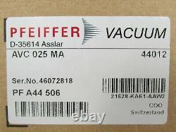 Pfeiffer Vacuum AVC PFA44506 Angle Valve Reference D-35614 Asslar / AVC 025 MA