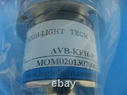 Pneumatic Angle Valves KF Flanges with bellows(AVB-KF16-P)