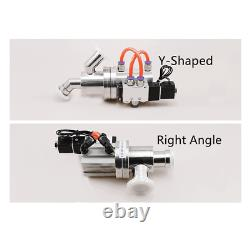 Right Angle, Y-shaped Damper Pneumatic Valve GDQ KF Flange High Vacuum Products