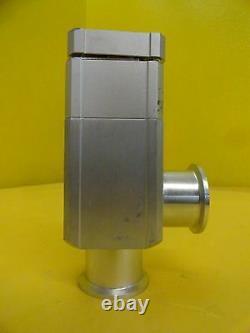 SMC XLAQ-40-X925 Vacuum Angle Isolation Valve TEL 3D80-002107-V1 Used Working