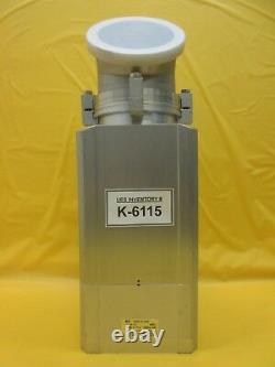 SMC XLD-100D-X862 Pneumatic High Vacuum Angle Valve ISO100 Used Working