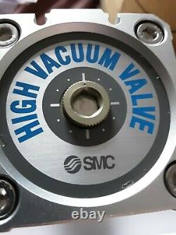 SMC XLD-40H0 High Vacuum Angle Valve Air Operated