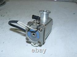 Smc Xla-16-x555 High Vacuum Angle Valve Lf-16 Nw16 Flange Size