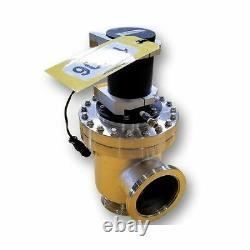 Used Stainless Steel Sanitary MDC 4 Vacuum Angle Valve LAV-400-PAA-03