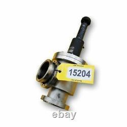 Used Stainless steel MDC 4 Vacuum Angle Valve AV-4001