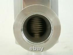 VAT 26328-KA11-0001 Pneumatic Right Angle Vacuum Valve Used Working