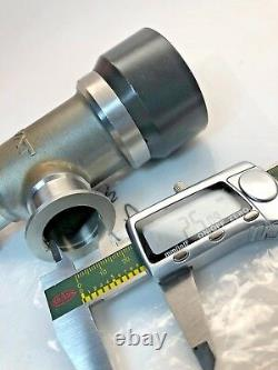 VAT 26328-KE11 High vacuum angle valve with bellows & large conductance NW25