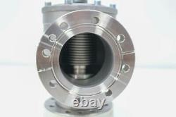 VAT 284 Series UHV SS Right Angle Valve 4.5 CF, Rotatable Flanges