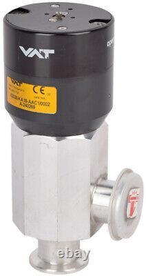 VAT 62028-KA18-AAC1 Series-62 Vacuum Control Softpump Pneumatic Angle Valve
