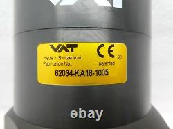 VAT 62034-KA18-1005 Pneumatic Angle Valve TEL Tokyo Electron Unity II Used