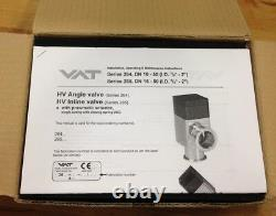 VAT High Vacuum Angle Valve 26424-KA11-0002 KF-25 Flange