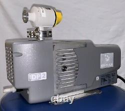 Varian Agilent IDP2 vacuum pump With Balzers Angle Valve