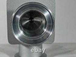 Varian Bellows Sealed Angle Vacuum Valve, NW25, H/O, Manual