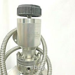 Varian High Vacuum Angle Manual Valve 951-5091 /Tested